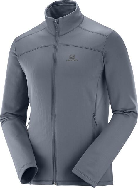 Salomon Discovery LT FZ Jacket Men ebony